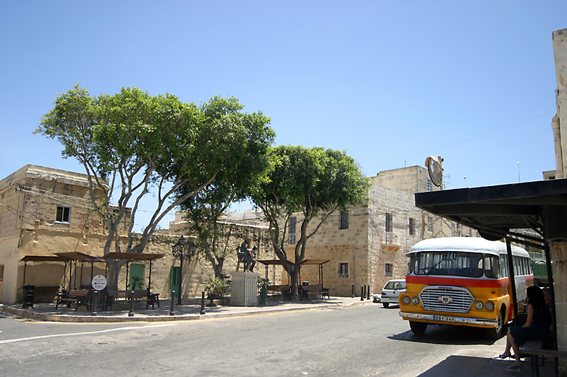 Old Maltese Bus in Dingli Township
