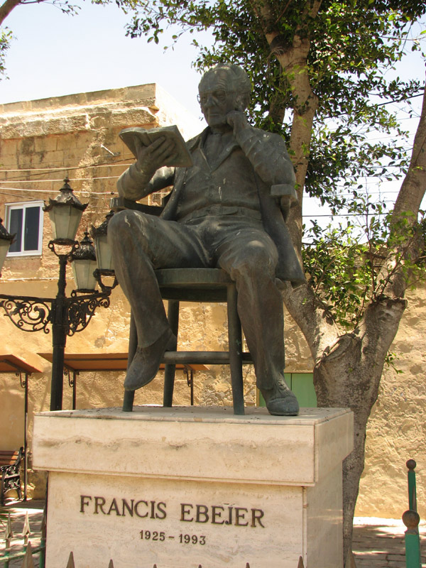 Monument for Francis Ebejer (Dramatist and Novelist)