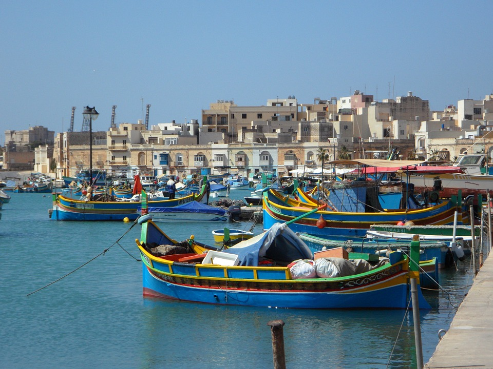 Marsaxlokk Fishing Boats