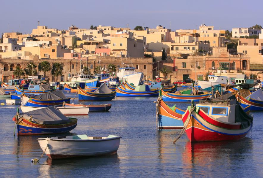Fishing Boats Malta